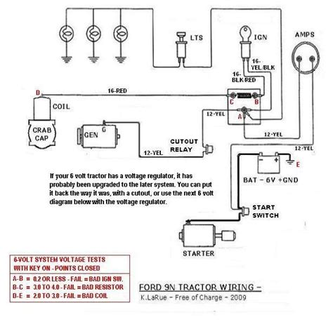 Ford Tractor Volt Conversion Free Wiring Diagrams