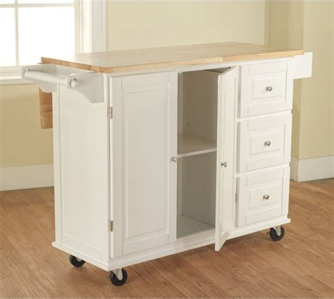 kitchen island storage table white kitchen cart w storage wood drop leaf island serving