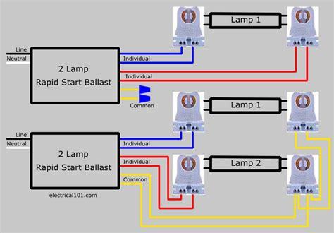seriesl ballast lholder wiring 3 ls electrical 101