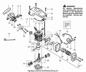 Poulan 1900 Gas Saw  Patriot 1900 Parts Diagram For Engine Assembly