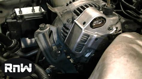 1997 Toyotum Camry Alternator Wiring Diagram by How To Replace An Alternator On A 1999 Toyota Camry 2 2l