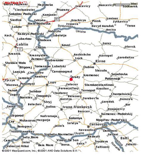 brody ukraine maps lisas ukrainian heritage