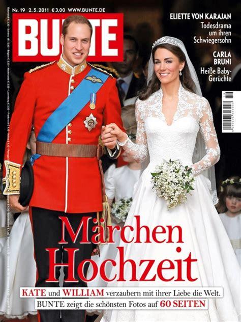 royal wedding auch bunte meldet rekordauflage fuer