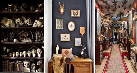 papier peint moderne chambre huit astuces déco pour une ambiance cabinet de curiosités