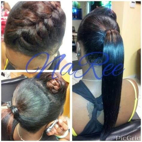fish tail hump invisible ponytail hairstyles styleseatcomnareestyles pinterest ponytail