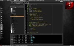 The theme - Custom FreeBSD desktop example (no DE ...  Desktop