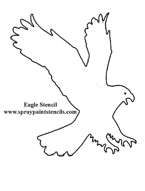 bald eagle template eagle stencil idea on pinterest eagles stencils and