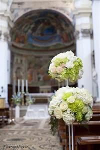 Addobbi Floreali Per Il Matrimonio Colori AVORIO E VERDE