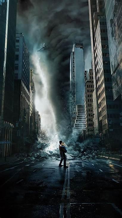 Geo Tormenta Geostorm Poster Storm Disaster Phone