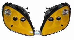 2005 Corvette C6 Millenium Yellow Headlight Head Light