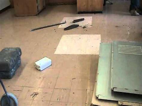 identifying asbestos flooring   lab youtube
