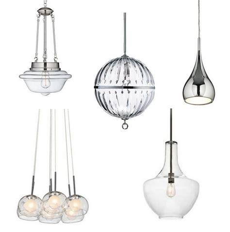 ls plus kitchen pendants chrome pendant light kitchen aero chrome pendant light