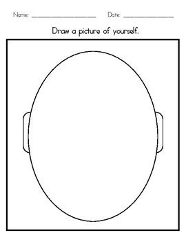 self portrait template by special resources for special 301 | original 4022575 1