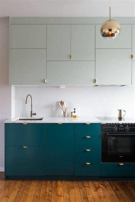 repeindre ses meubles de cuisine en bois 1001 idées pour une cuisine relookée et modernisée