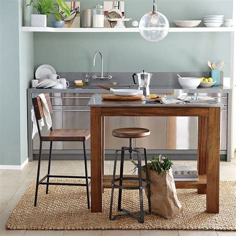 west island kitchen rustic kitchen island modern kitchen islands and kitchen carts by west elm