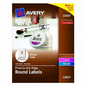 avery print to the edge round labels glossy clear 2 With avery 1 inch round clear labels