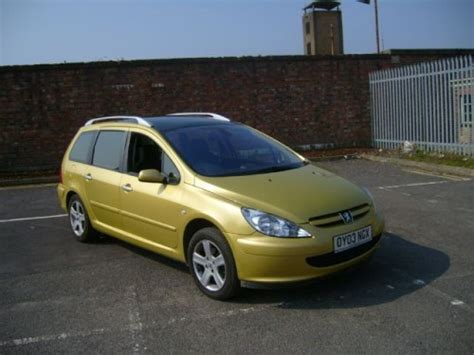 Peugeot 307 Picture  Peugeot 307 2003 Sw Se Photos 2976897
