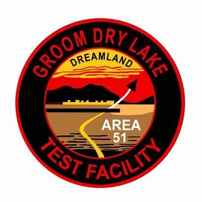 Area 51 Lake Groom Facility Test Dry