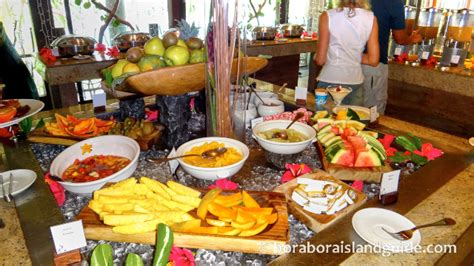 bora cuisine tahiti food prices images