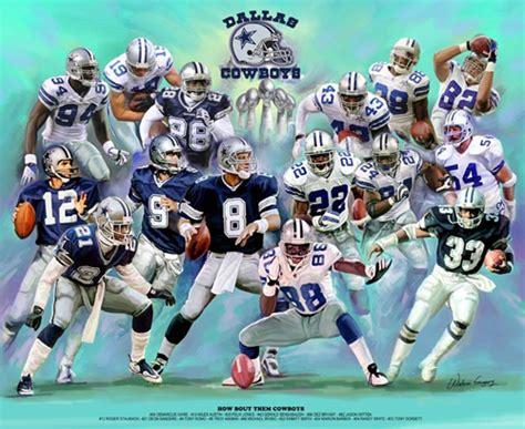 Dallas Cowboys Football Art