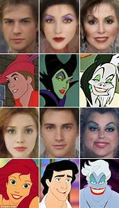 What Disney characters look like in REAL LIFE: Artist ...