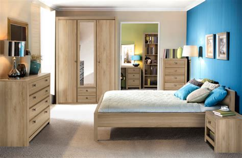 modeles armoires chambres coucher lit indigo chambre a coucher chene clair l 170 x h 70 x p 210