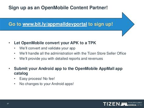 openmobile acl bringing android apps to tizen