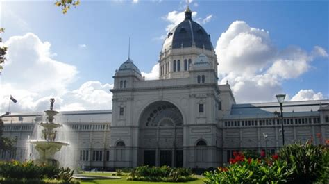 the stunning royal exhibition building built in 1880 and
