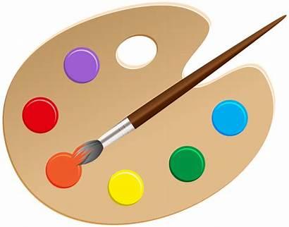 Palette Clip Artist Clipart Transparent Pngimg Painting