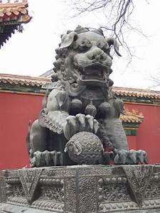 File:China - Beijing 12 - lion outside the Tibetan ...