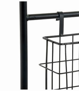 Porte Photo Mural Metal : porte revues mural en m tal noir 2 casiers ~ Teatrodelosmanantiales.com Idées de Décoration