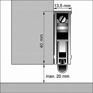 Türbodendichtung Mit Absenkautomatik : automatische absenkdichtung befestigung vor dem t rblatt dollex ~ Watch28wear.com Haus und Dekorationen