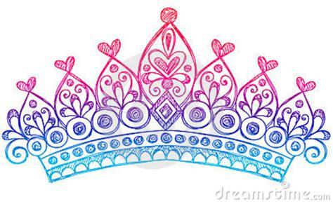 sketchy princess tiara crown notebook doodles thumb