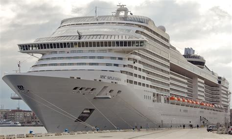 msc splendida itinerary schedule current position cruisemapper
