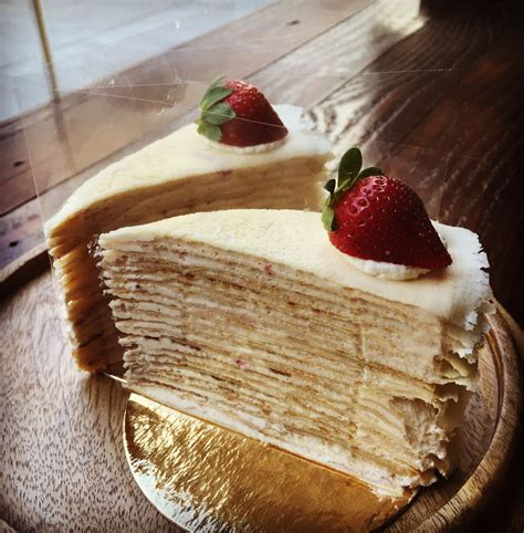 crepe layer cake  cakes