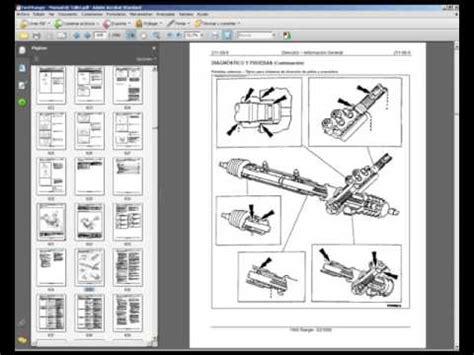ford ranger manual de servicio taller reparacion