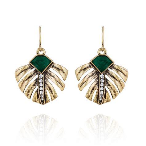 aliexpress com buy 2015 new fashion vintage leaf green