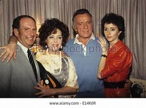 Stock Photo - RICHARD BURTON with wife Sally Hay, double ...