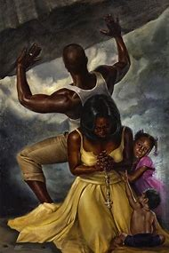 African American Art by Wak