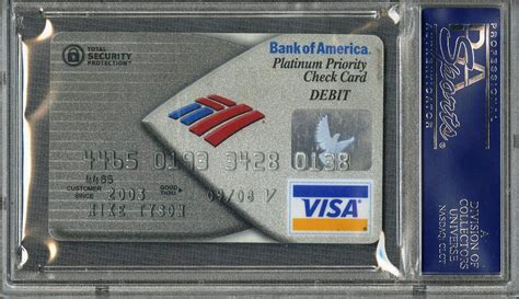 The premium rewards credit card lets you live life your way and get rewarded for it. Lot Detail - Mike Tyson Signed Bank of America Visa Debit Card