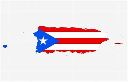 Puerto Rico Flag Clipart Rican Clip Map