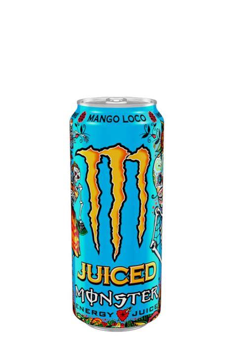 Enerģijas dzēriens Monster Juiced Mango Loco - Energy drinks
