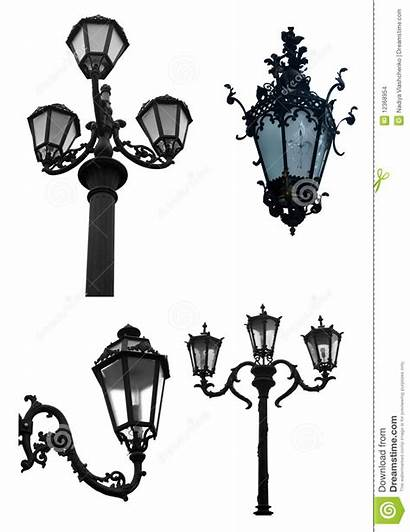 Street Decorative Lights Background Ornate Dreamstime
