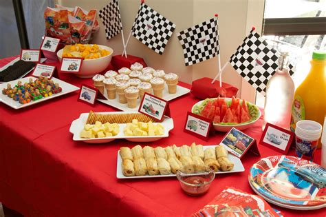 Party Food : Disney Cars Birthday Party On A Budget