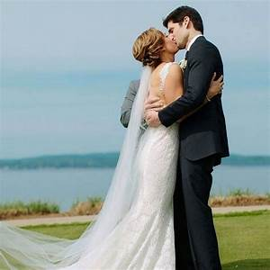 good morning america host ginger zee says 39i do39 to ben With ginger zee wedding dress