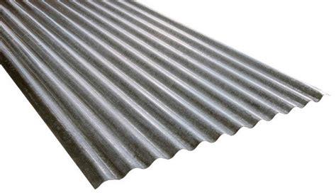 plaque ondulee en acier galvanise   cm   cm
