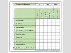 Kundenbefragung mit einer ExcelVorlage Allemeine