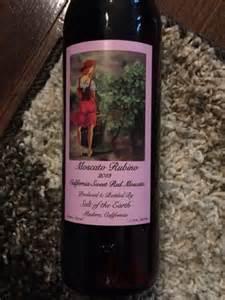 Moscato Rubino Sweet Red Wine