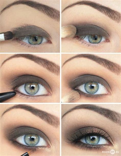 alluring grey smokey eye makeup  pretty designs