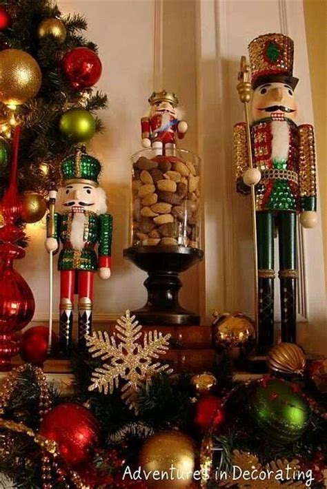 christmas nutcrackers holiday christmas pinterest